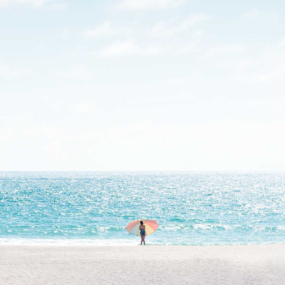 Hisaya Los Angeles: Minimalist And Striking Beach Landscapes By David Behar