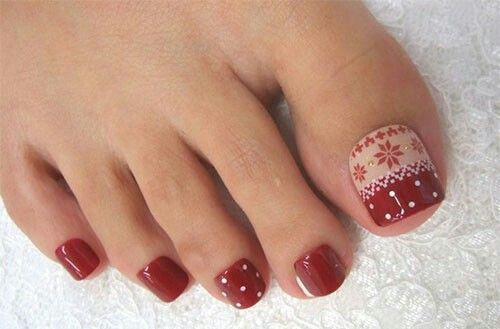 Pin By Carolyn Bell On Christmas Toes Pinterest Christmas Toes