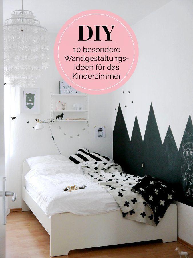 10 besondere DIYWandgestaltungsideen für das Kinderzimmer