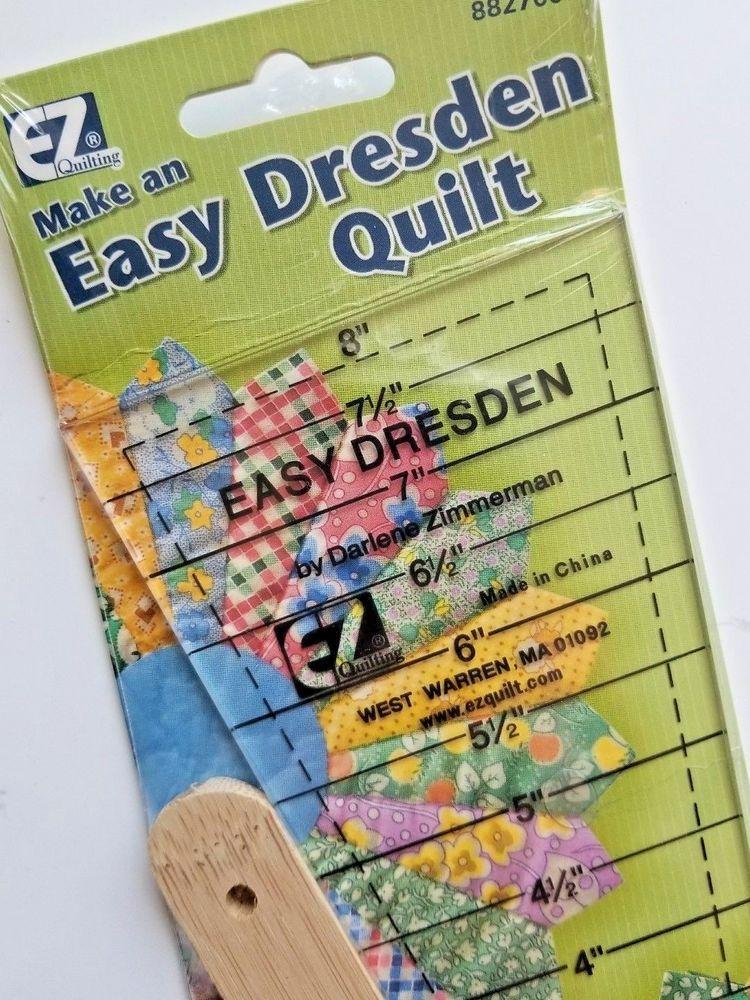 Easy Dresden Set EZ Quilting Ruler 882700