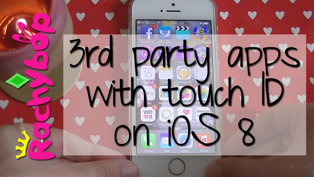 3rd party apps with touch id on ios 8 rachybop party