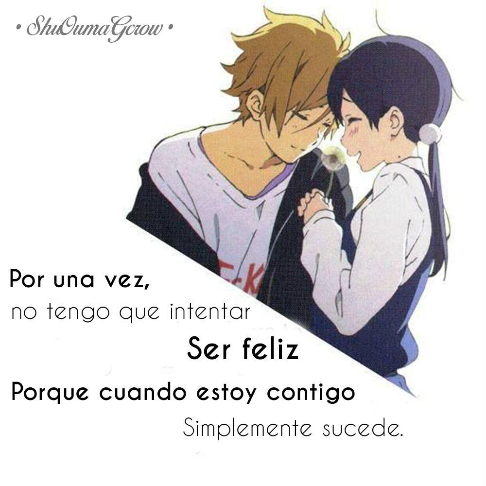 Por Una Vez Shuoumagcrow Animes Pinterest Amor Frases Y