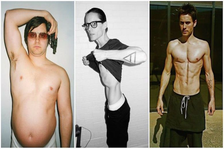 17 Celebs Who Made Shocking Body Transformations For A Role Transformation Body Terry Richardson Photos Jared Leto