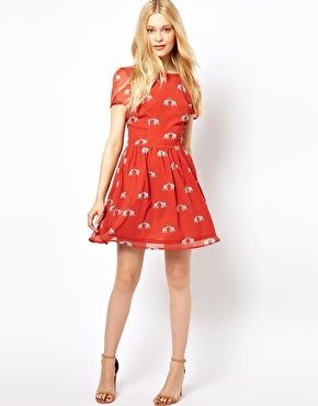 Red Elephant Dress // ASOS | Clothing // Dresses | Fashion ...