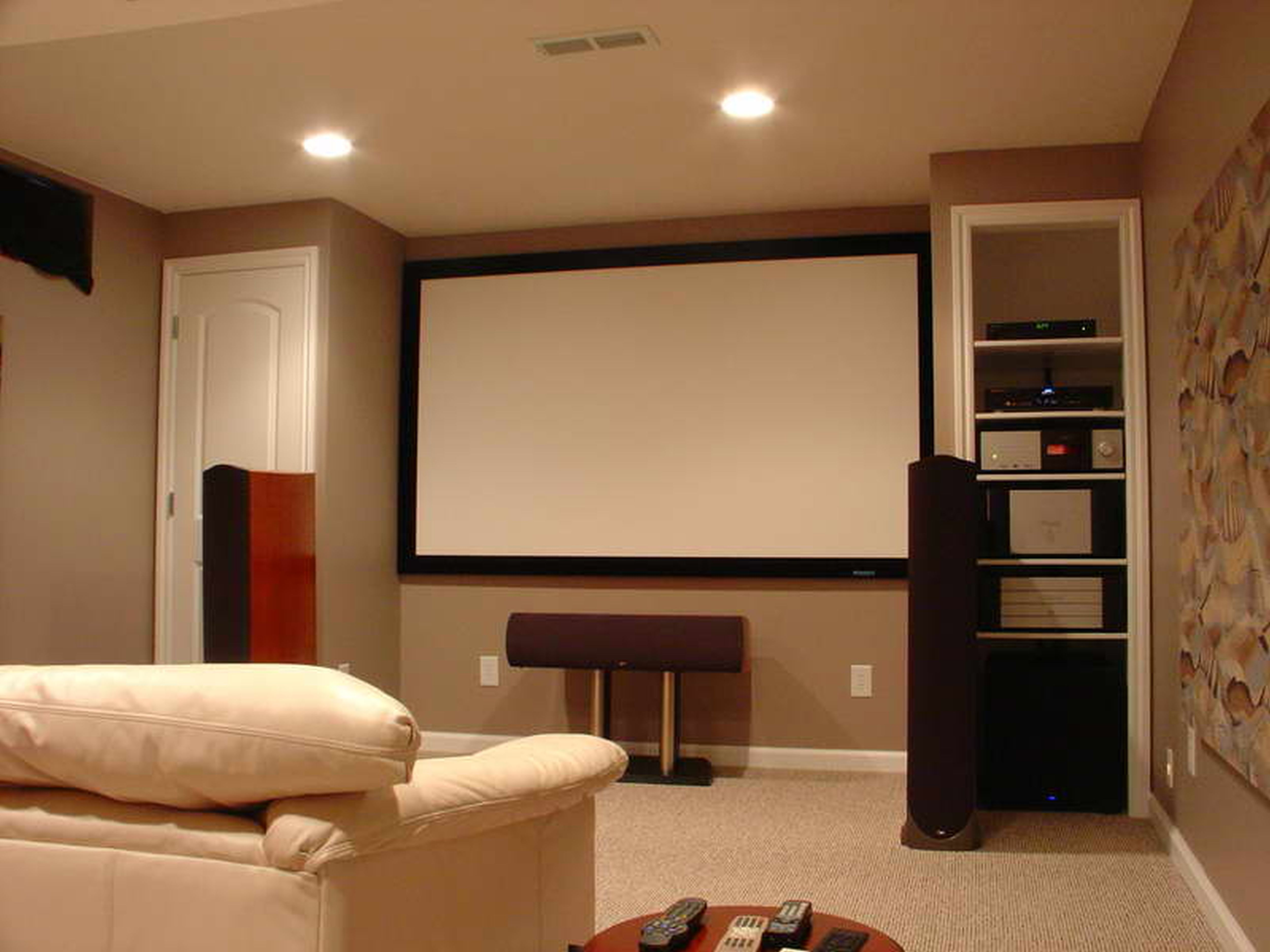 21+ Basement Home Theater Design Ideas ( Awesome Picture) | Pinterest