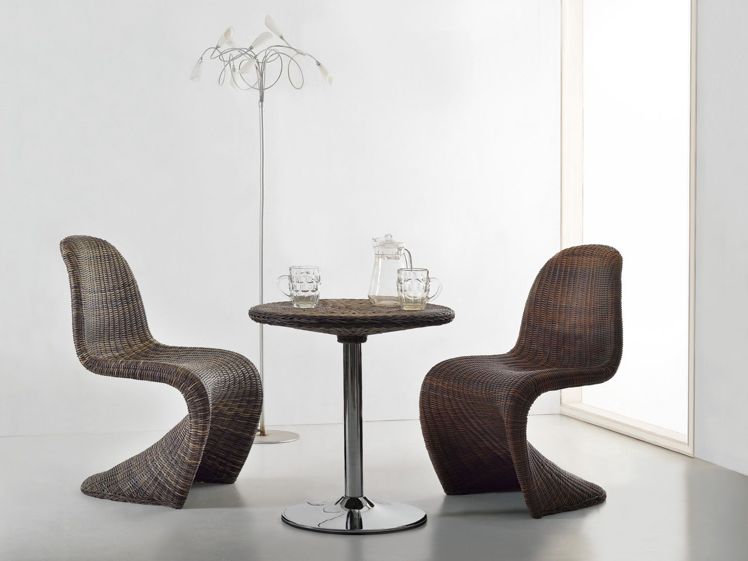 The Rattan Panton Chair