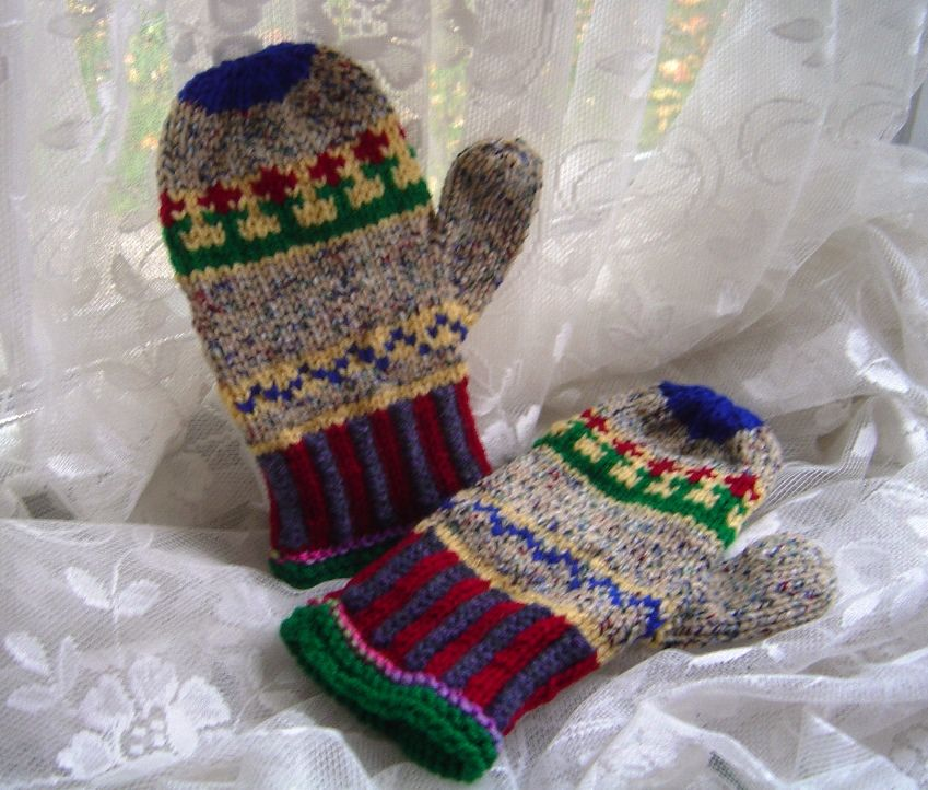 Fair Isle Mittens, see on my Etsy shop: https://www.etsy.com/shop ...