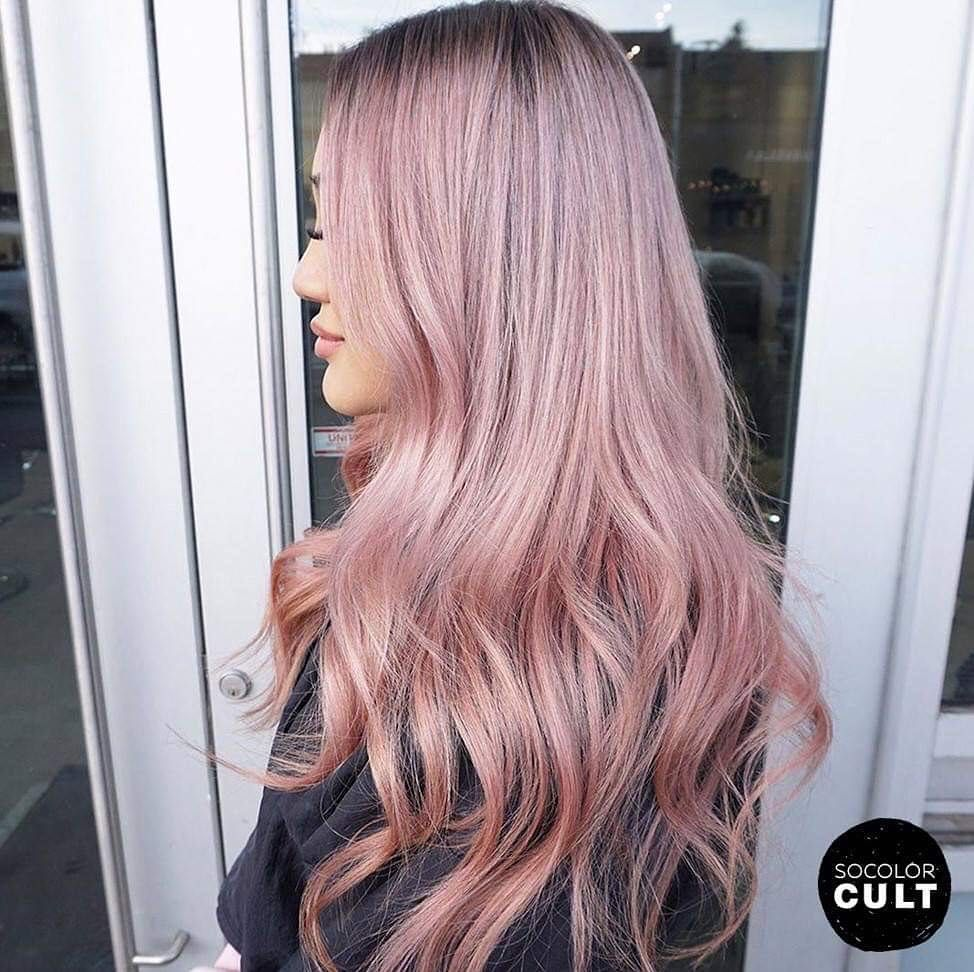 Matrix On Instagram Evalam Is Giving Us Pale Pink Perfection This Pinkhair Final Result Is Thank Hair Inspiration Color Pale Pink Hair Pink Blonde Hair
