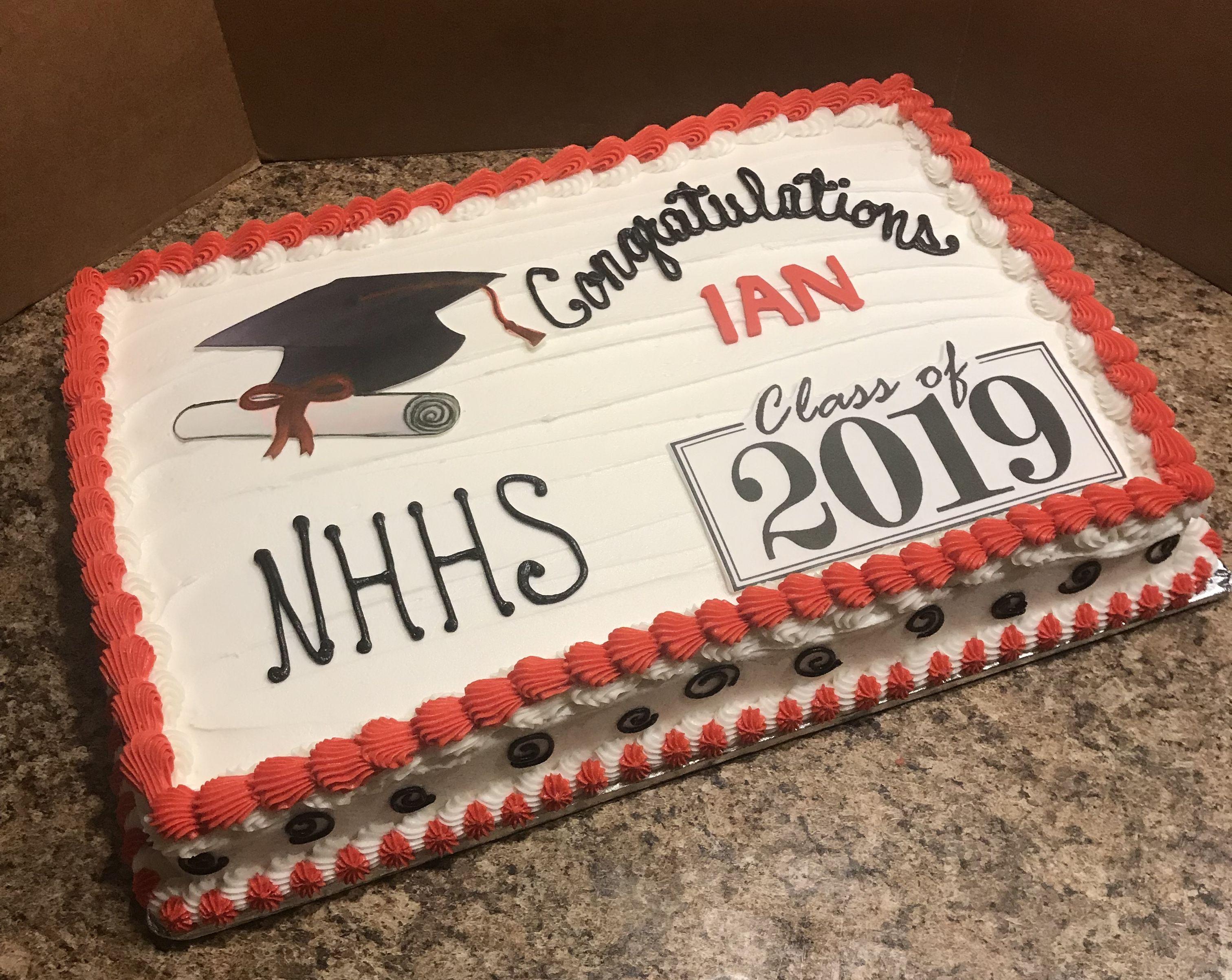 Graduation Sheet Cake Sheet Cake Occasion Cakes