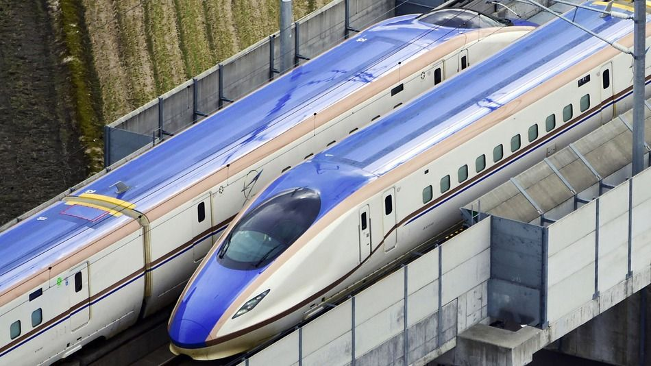 Google Street View offers an inside look at Japan's newest high-speed rail line.