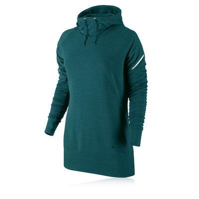 Nike Dri-Fit Wool Women's Long Sleeve Hooded Top - SP14 picture 1