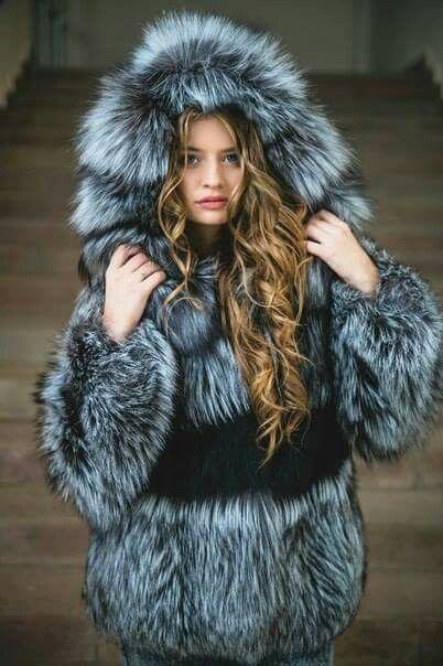 Fur Lover : Photo | Furs | Fur, Fox fur, Fox fur coat
