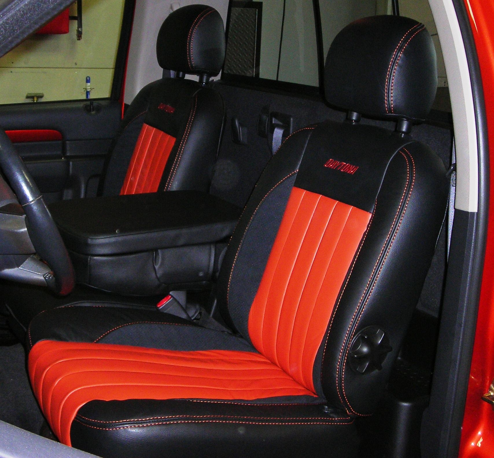 Custom Automotive Leather Interior Dodge Ram Daytona Seats Pinterest Dodge Rams And Vehicle