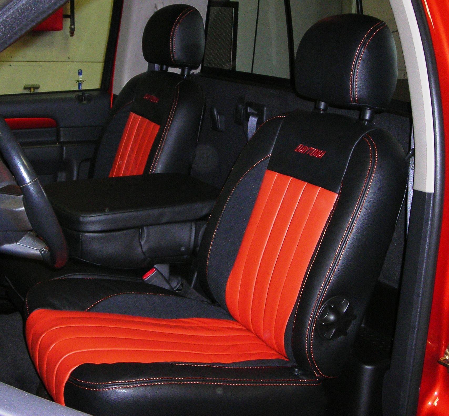 Custom Automotive Leather Interior Dodge Ram Daytona Seats Pinterest Dodge Rams And Dodge