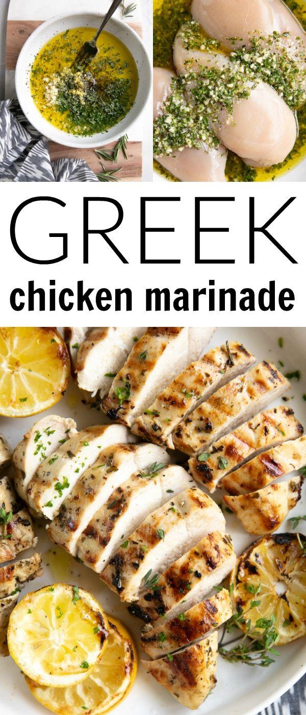 The Best Greek Chicken Marinade images