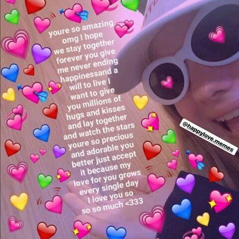 Pin By Thea On My Heart Cute Love Memes Love You Meme Cute Memes