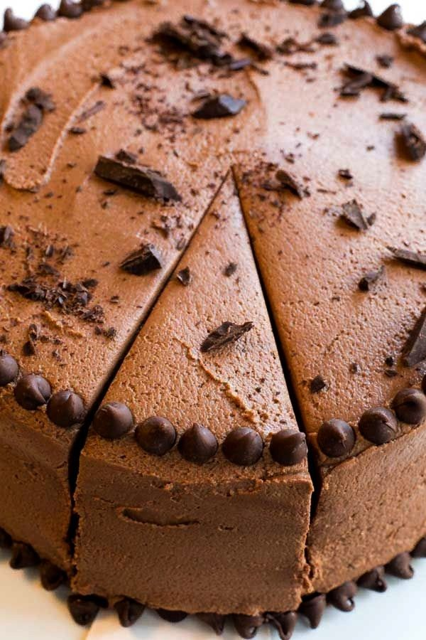 BEST CHOCOLATE CAKE  The BEST Chocolate Cake with Creamy Chocolate Buttercream Frosting The perfect cake for parties birthdays or just because Happy New Years Eve Lets ce...