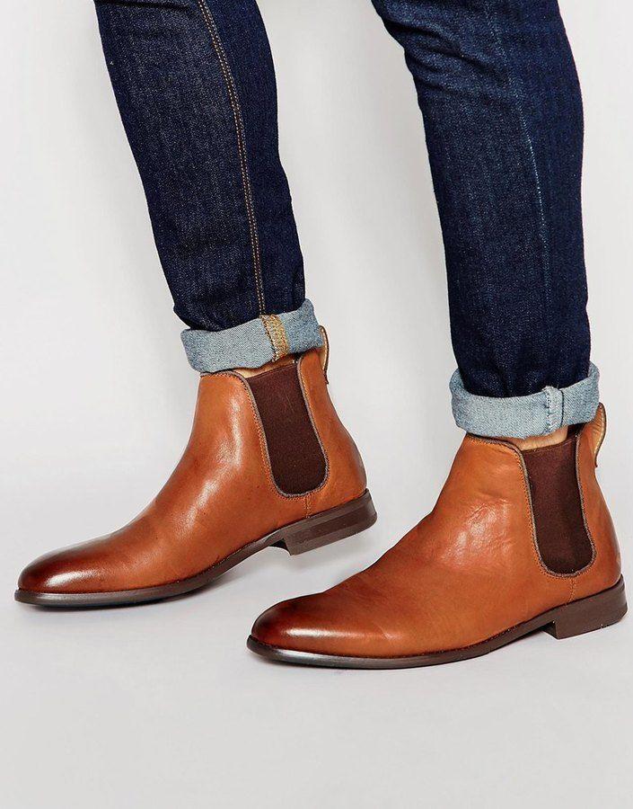 Buy Men Shoes / Aldo Merin Leather Chelsea Boots