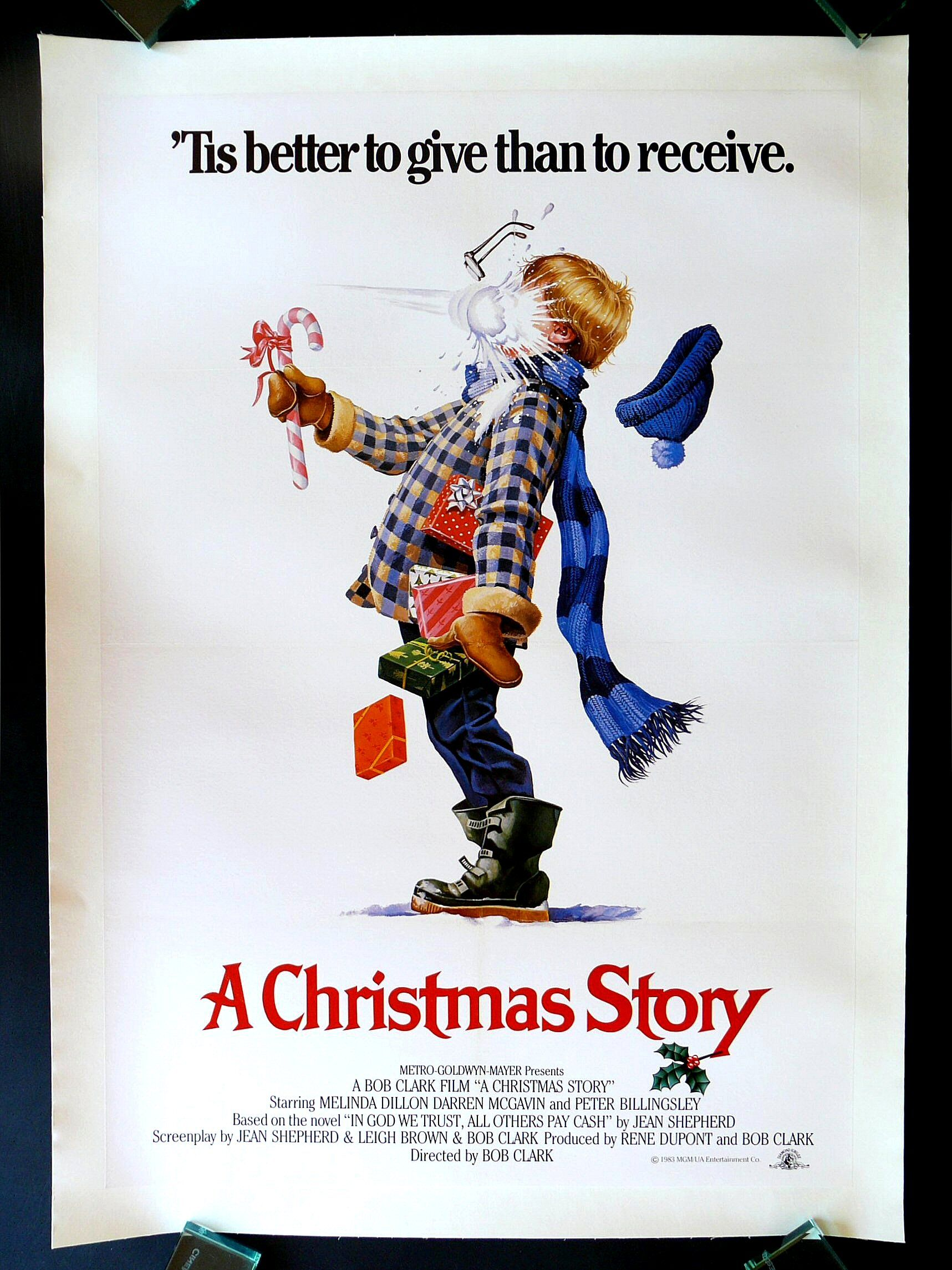 A CHRISTMAS STORY * CineMasterpieces 1SH ORIGINAL MOVIE POSTER RARE ...