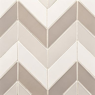 Ann Sacks Chevron Tile Awesome As Backsplash In Kitchen Or A Small Bathroom