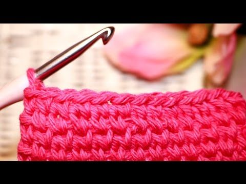 """▶ How To: CROCHET The """"KNIT STITCH"""" - YouTube"""