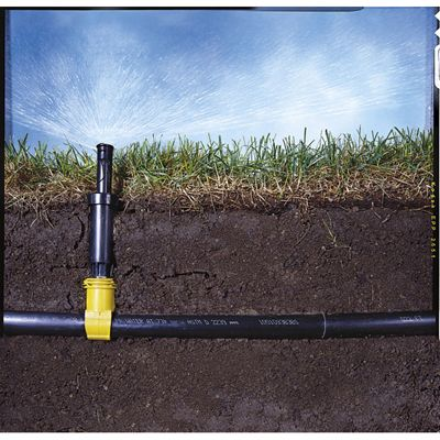 How To Install Your Own Underground Sprinkler System Underground Sprinkler Lawn Sprinkler System Irrigation System Diy