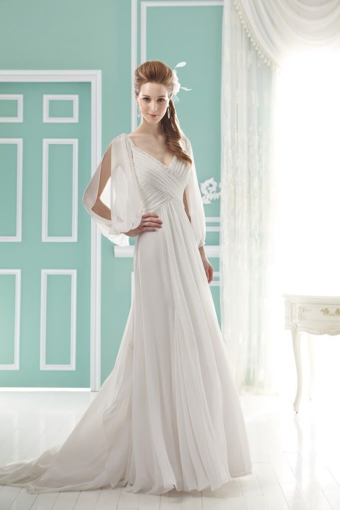 Open Back Beach Casual 3 4 Butterfly Sleeve Wedding Dress US 15600