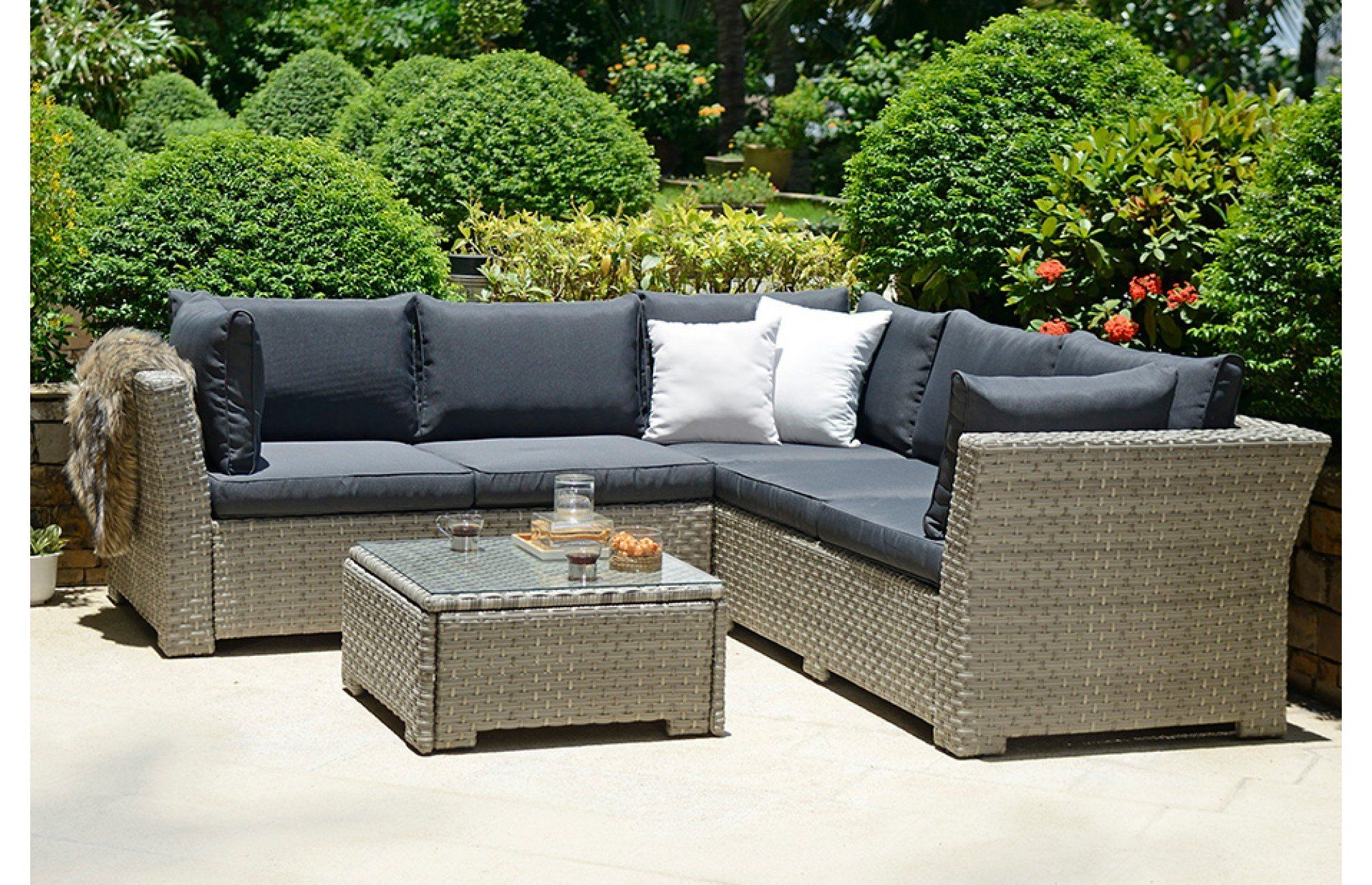 915911da3e8c Chesterton is our best value hand woven rattan corner set and comes with  generous and chunky seat