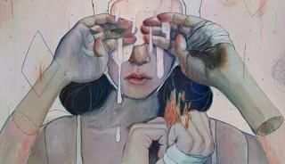 هل فعلت قد يحرمك الله من شخص أحبك وأحببته فتقوم بكل سذاجة واستماتة باللحاق به تقذف يديك أمامك لتتمسك أكثر تركض تل Art Art Painting Illustration Art