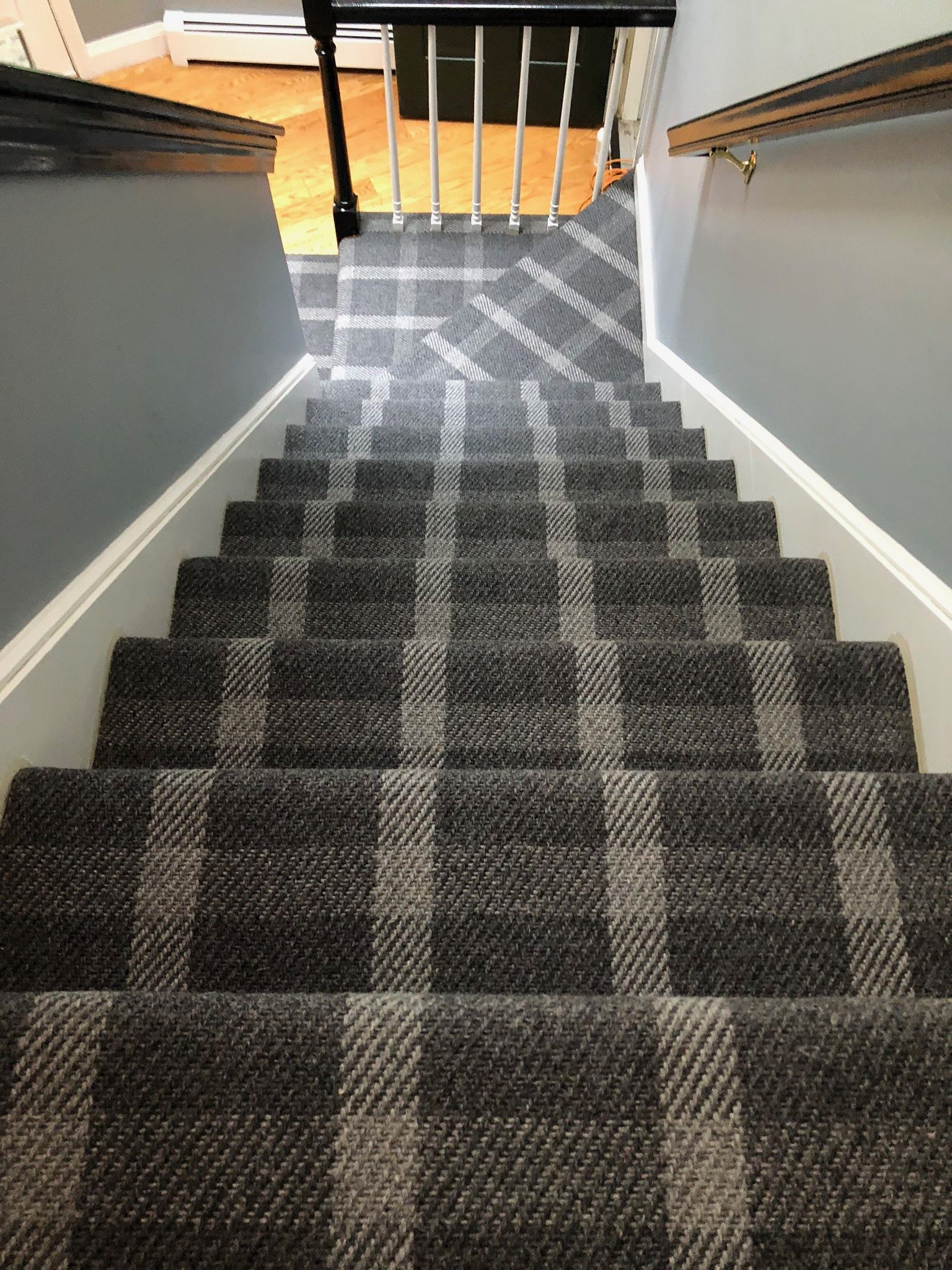 New Kaleen Product Called Road Town Is Super Easy Looking On Stairs And Runners It S A Cant Miss Oppor Patterned Stair Carpet Stair Decor Stair Runner Carpet