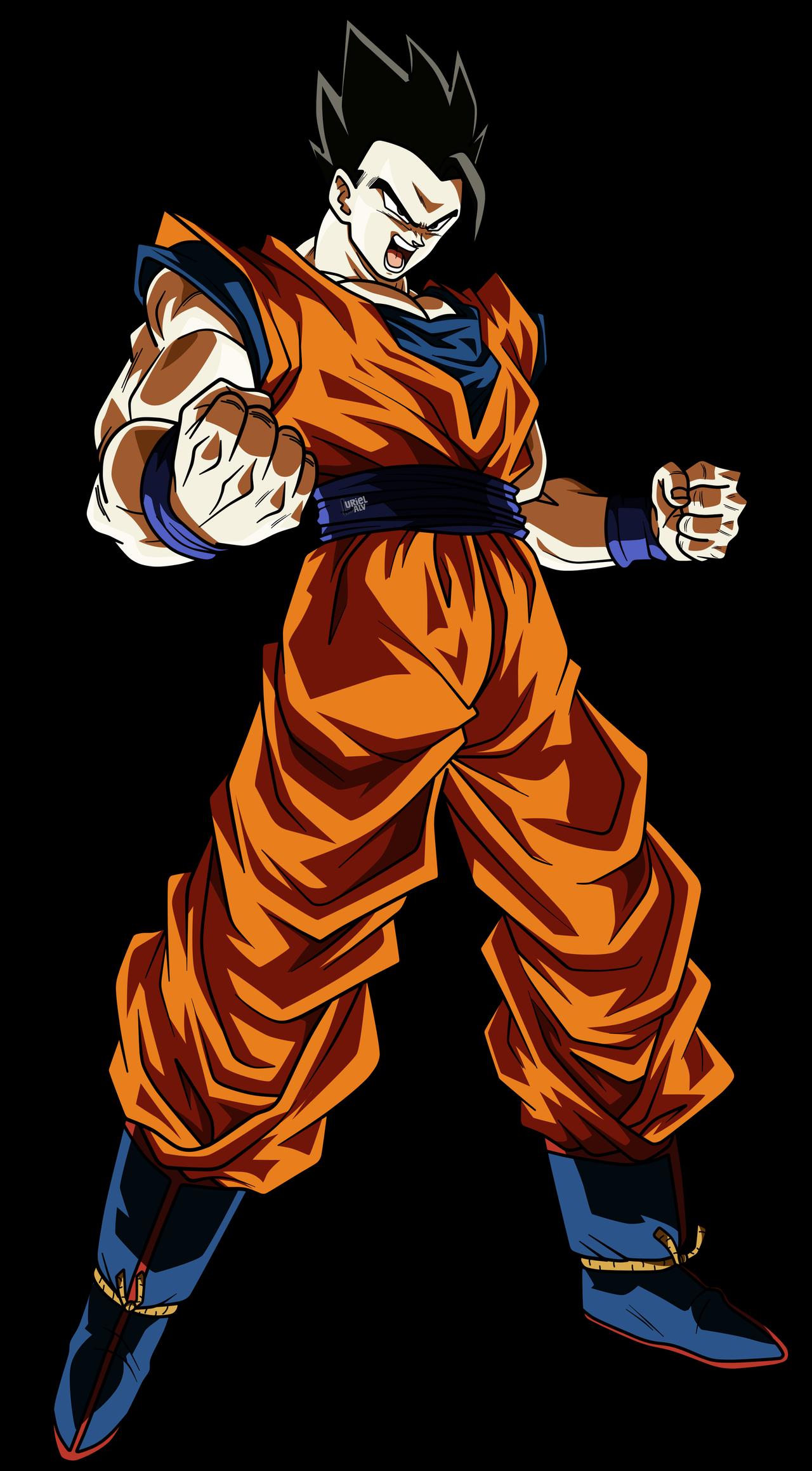 Gohan 3 By Urielalv Anime Dragon Ball Super Dragon Ball Artwork Dragon Ball Super Manga