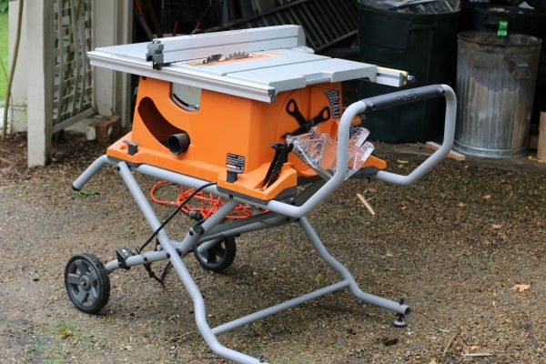Ridgid 10 Inch Portable Table Saw With Stand R451 Portable Table