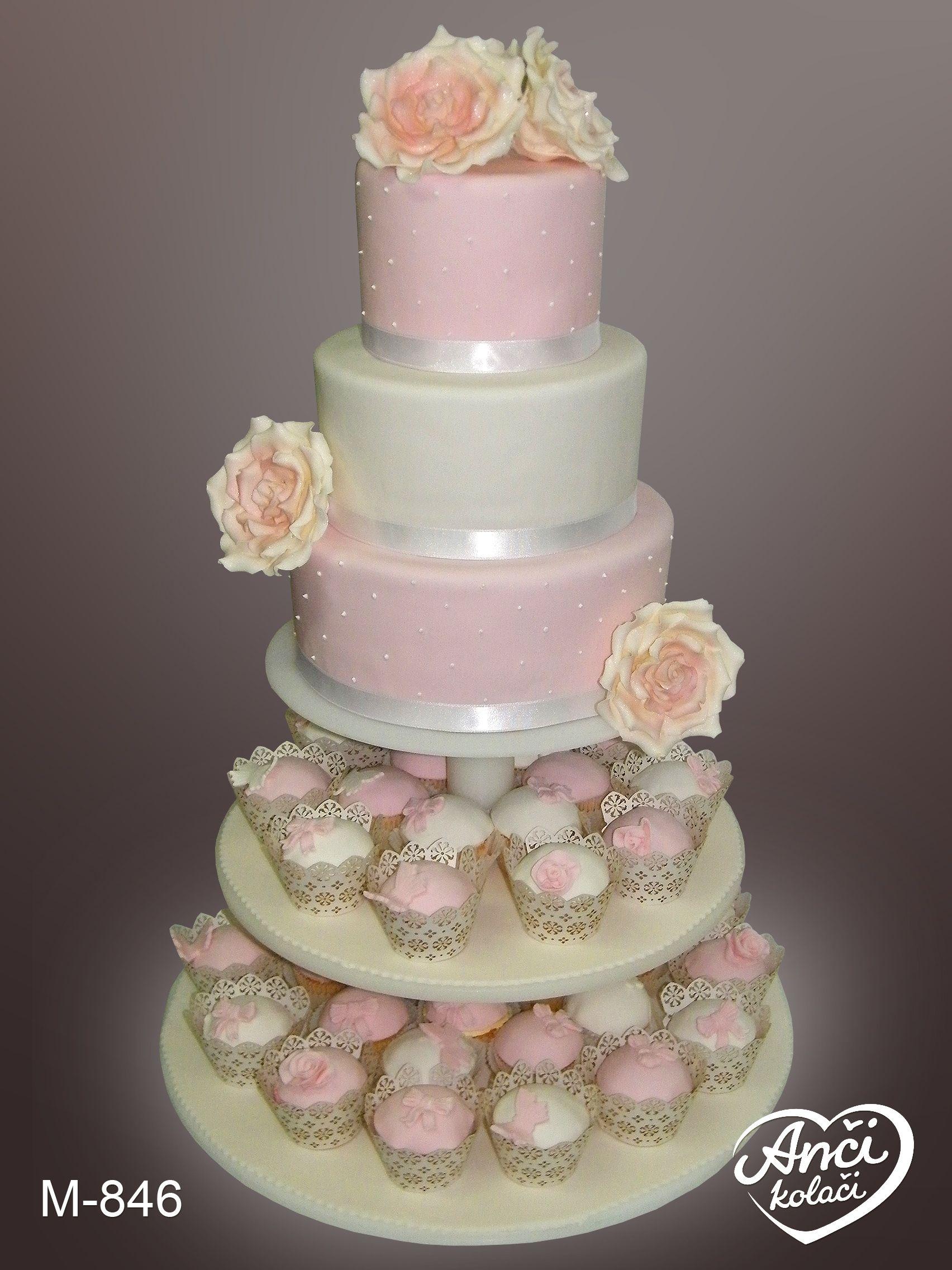 svadbena torta sa kapkejkovima anci kolaci wedding cakes