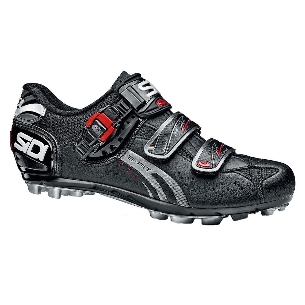 Sidi Dominator Fit Mega Men S Mtb Shoes Black 43 Fiets Skischoenen