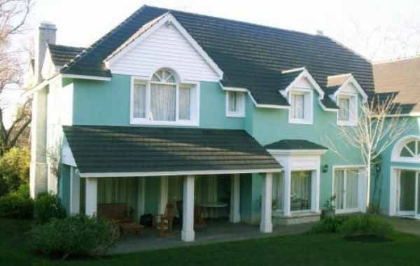 Frentes de casas colores 600 380 arquitectura for Colores para pintar frentes de casas