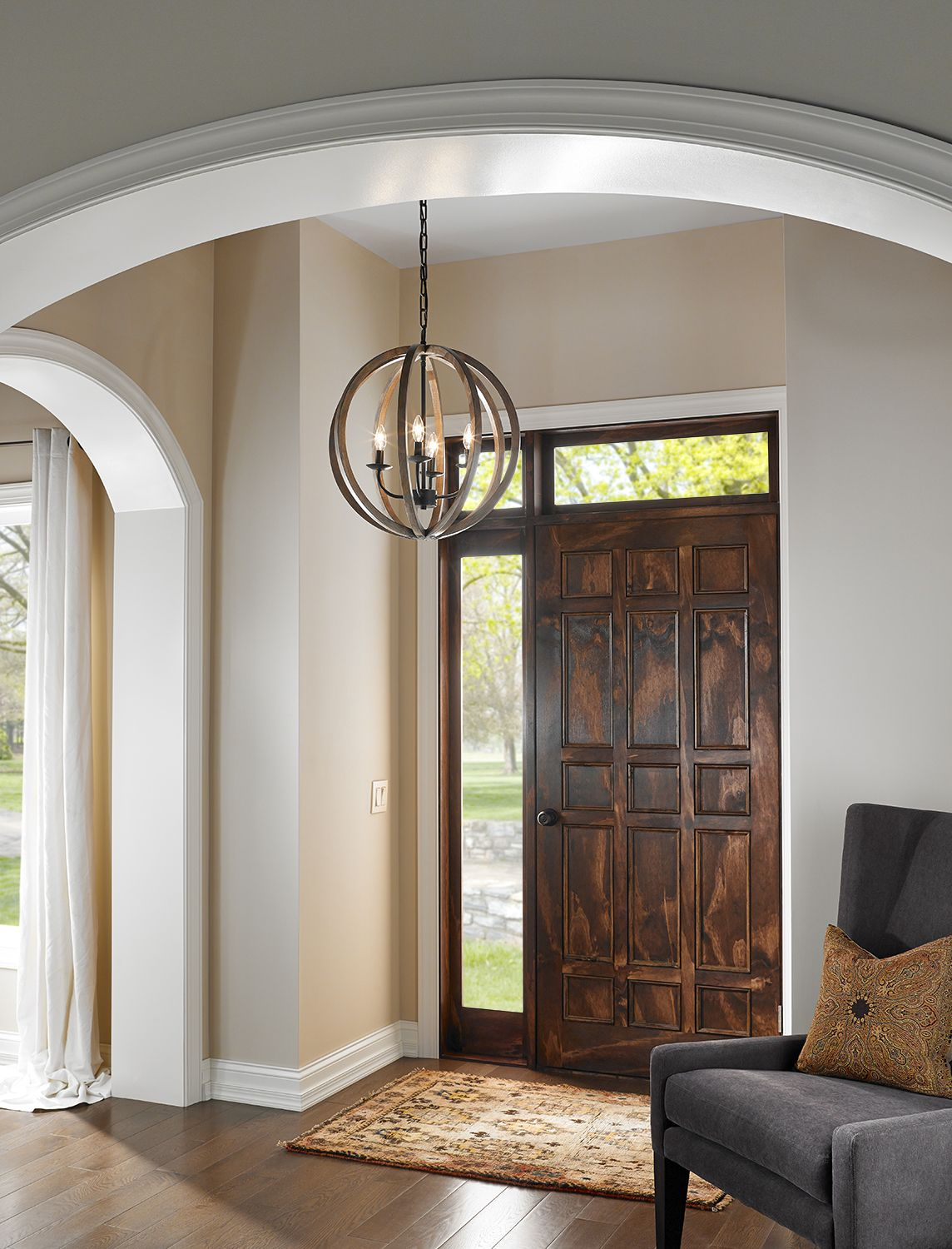 Chandeliers area rugs u color transform your entryway with these