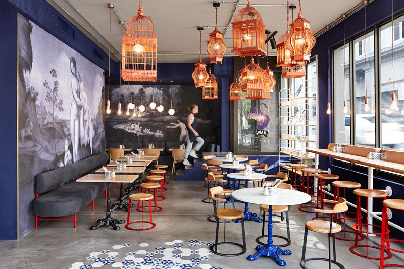 Haldane Martin Have Designed The Newly Opened Swan Cafe In Cape