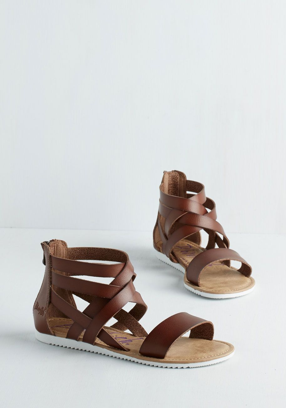 248d6a1a223a Sandal in Brown. Whether youre the one paddling oar just along for the  ride