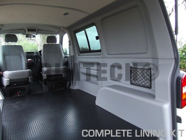 VW T5 Plastic Lining Kit for Panel Vans The lining kit has ...