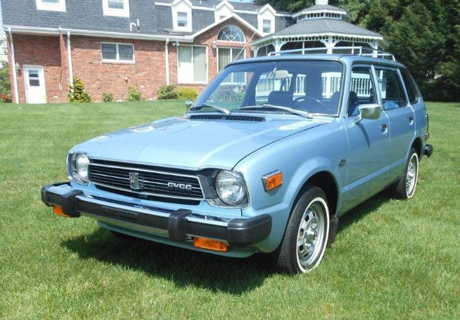 1984 Honda Civic Station Wagon Blue Perfect Survivor
