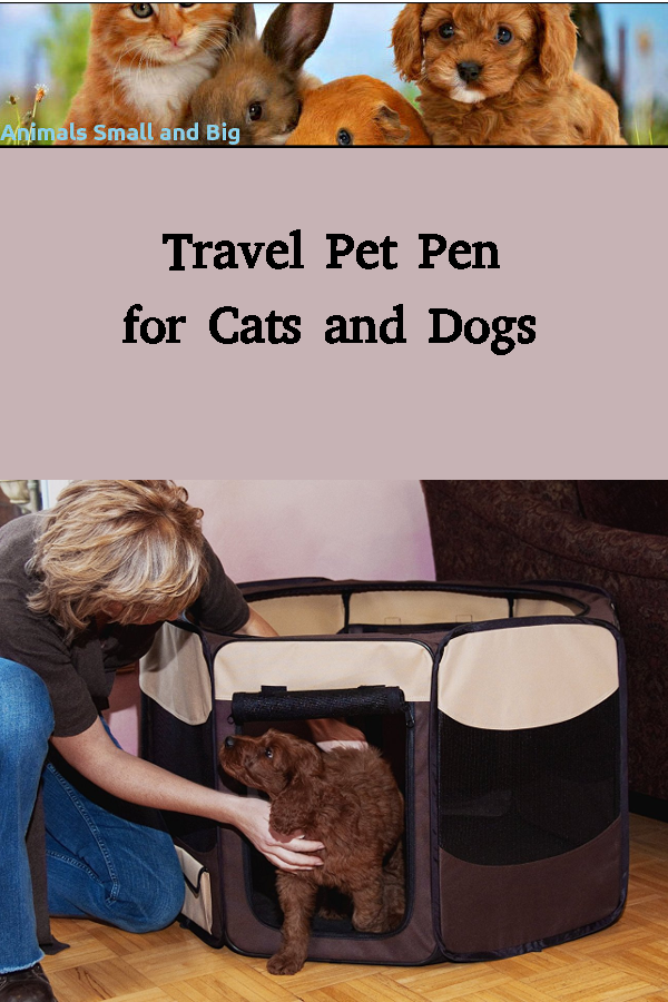 Sikantispets Travel Pet Pens For Cats And Dogs In 2020 Animal Pen Pets Pet Travel
