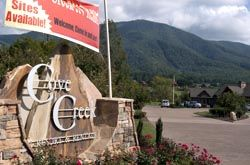 Up Scale Cove Creek Rv Resort In Wears Valley Tennessee Resort Tennessee Travel Mountain Travel