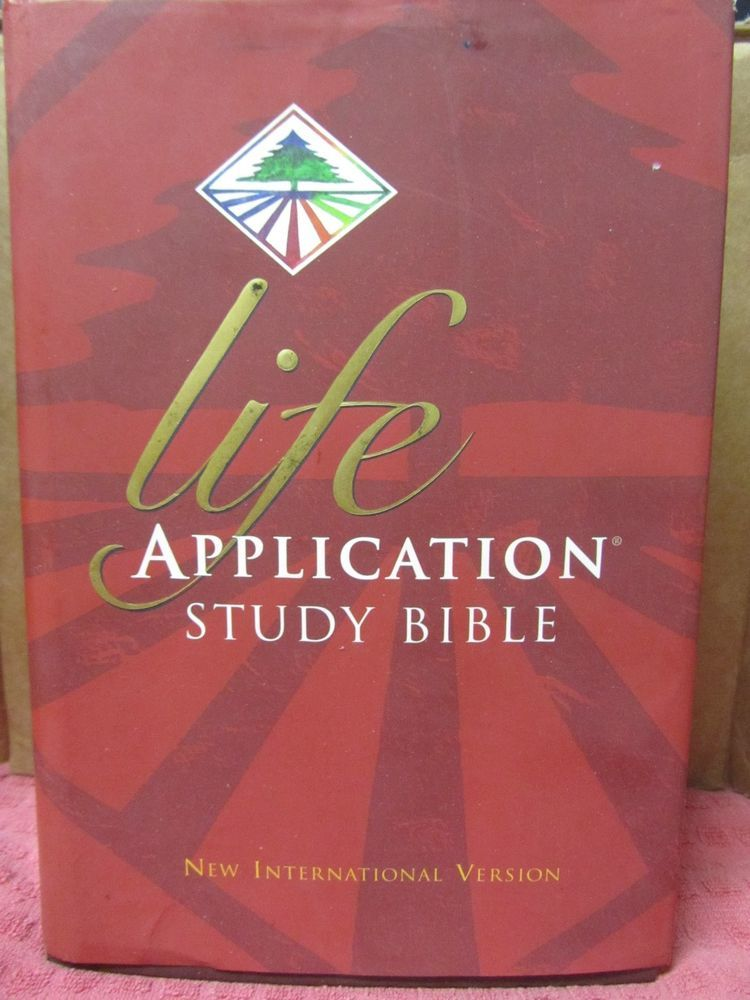 Life Application Study Bible (1997, Hardcover) New