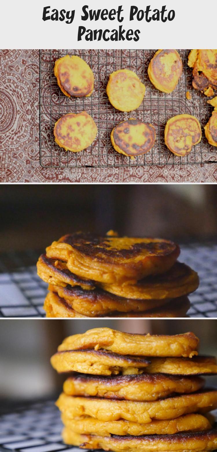 Easy Sweet Potato Pancakes - BABY in 2020   Sweet potato ...