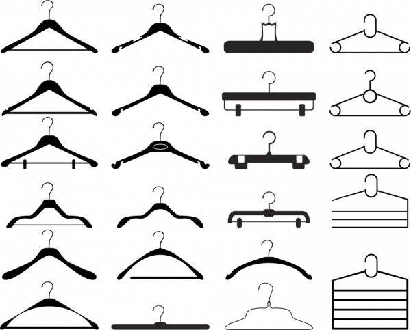 Tipos de cabides e a melhor combinação!   Organização de guarda roupas 2b2a9f06f8