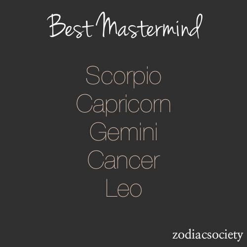 Best Mastermind Signs | Gemini & Other Zodiacs | Zodiac