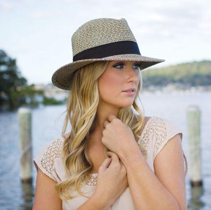 be7192a1 Wallaroo Hat Company Josie Fedora Mixed Black 3