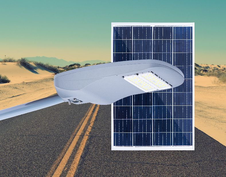 Eagle All In Two Solar Street Light
