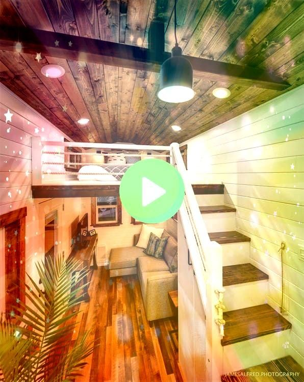 Rustic but Modern Tiny Home Comes With All the Best BigHouse Trimmings This Rustic but Modern Tiny Home Comes With All the Best BigHouse Trimmings  Rustic Meets Luxury 30...