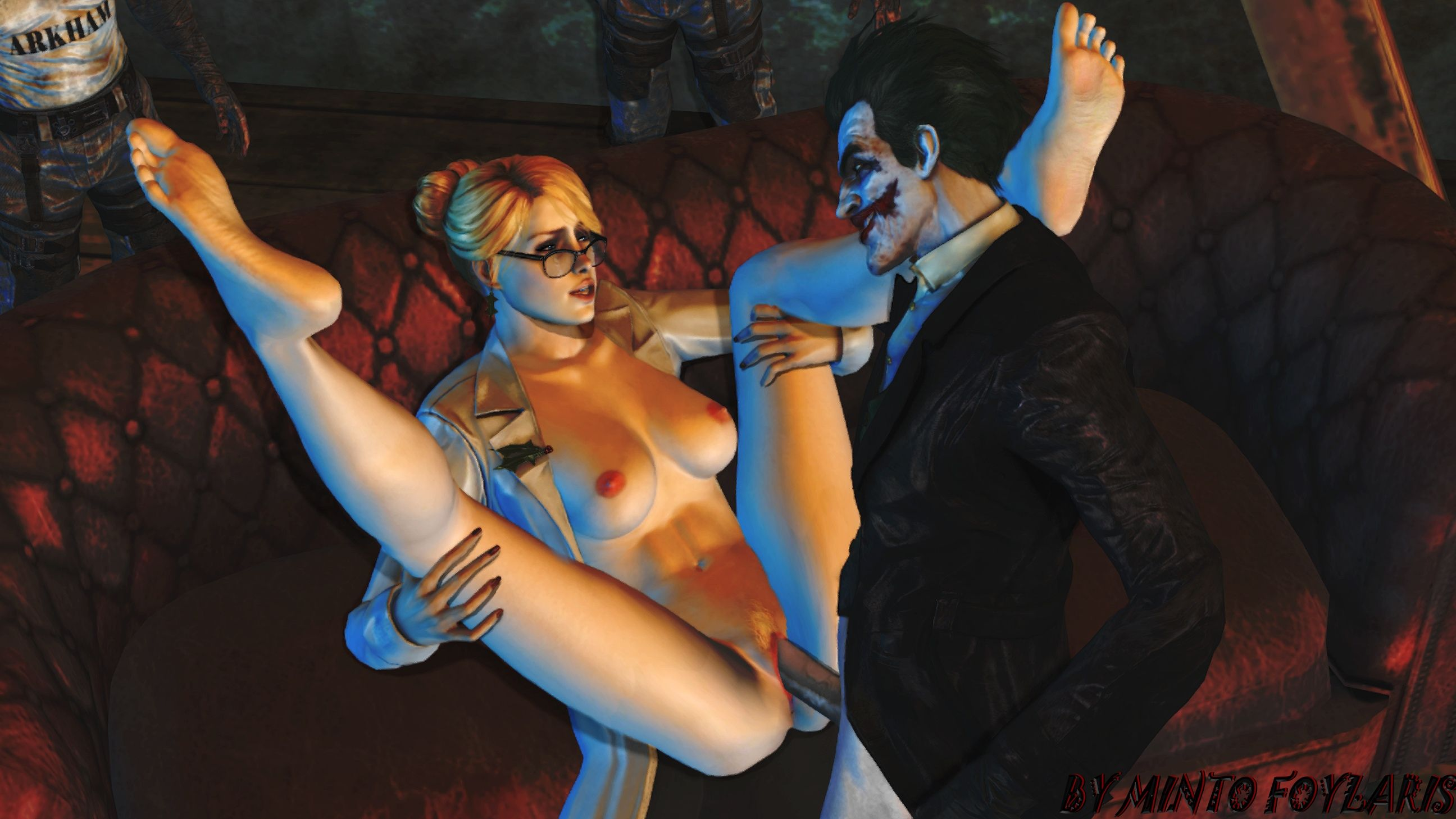 Batman Arkham Asylum Harley Quinn Nude